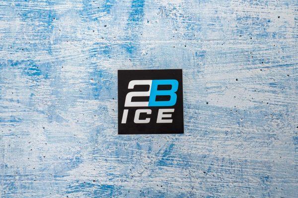 2B Ice Black Decal