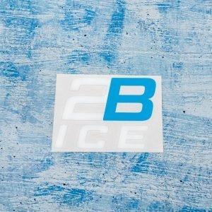 2B Ice White Decal