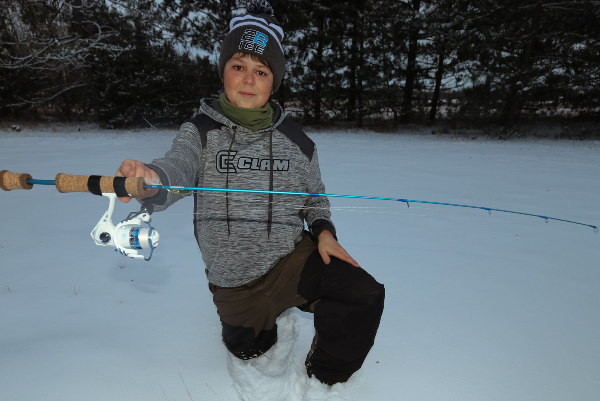 fishnmore ice rod with murray