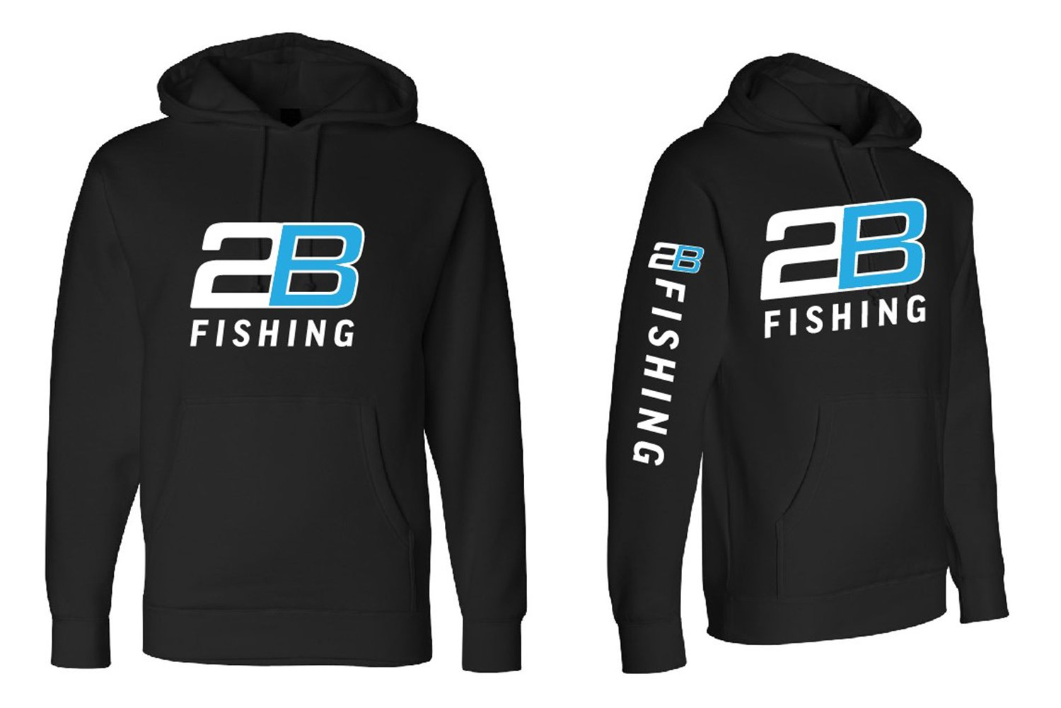 2B Fishing Sweatshirt - font-side