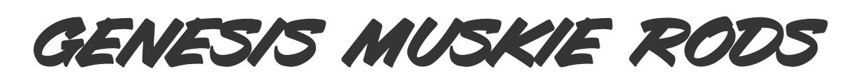 Genesis muskie series